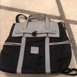 Henri Bendel black backpack bag